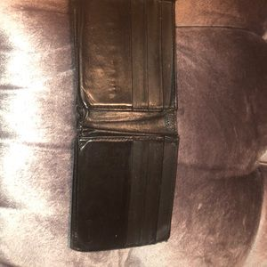 Coach wallet in all black!